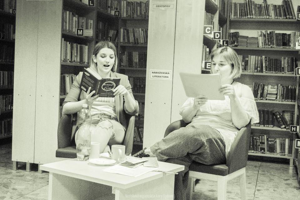 Tekovská knižnica v Leviciach - oddelenie beletrie